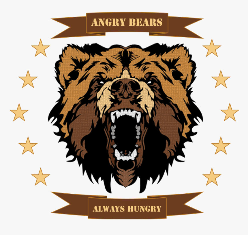 - Grizzly Bear Logo Png - Grizzly Bear Face Png, Transparent Png, Free Download