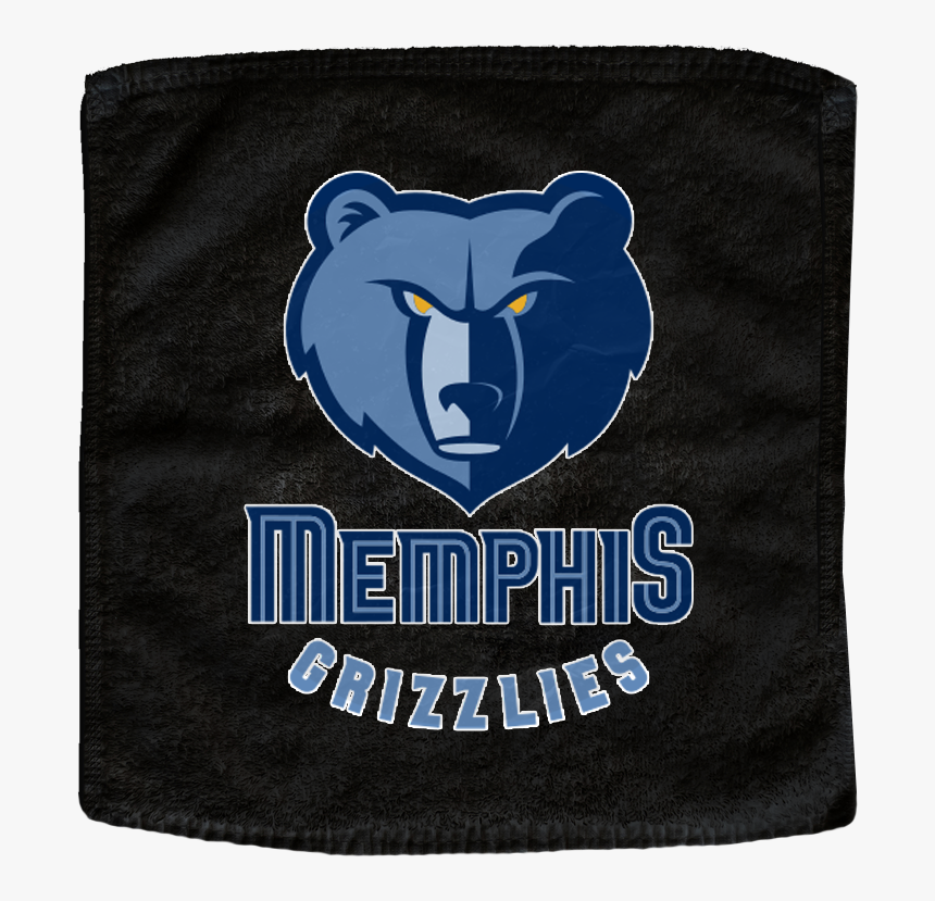 Black Memphis Grizzlies Nba Basketball Rally Towels - Memphis Grizzlies, HD Png Download, Free Download