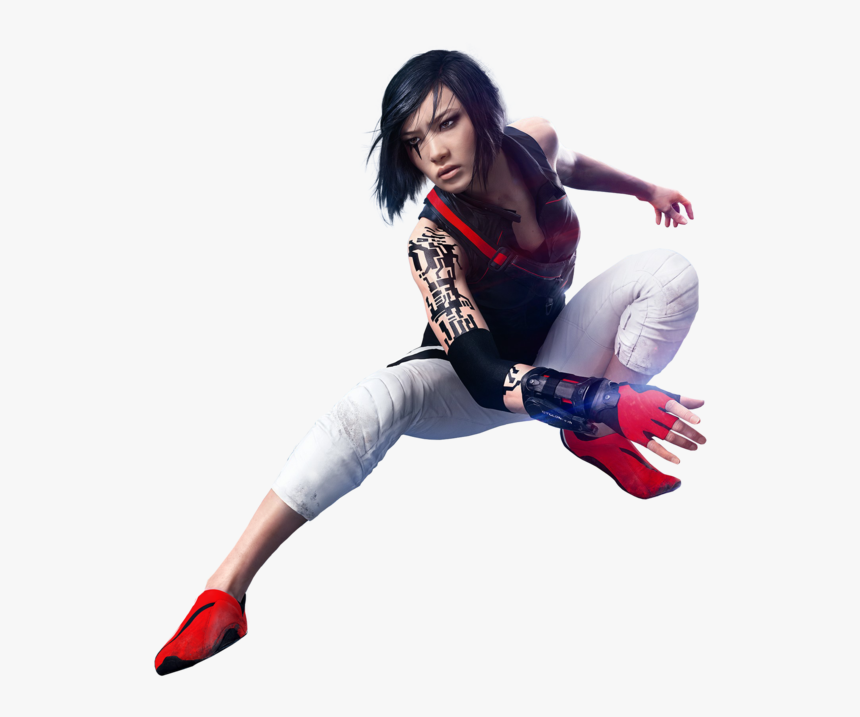 Mirrors Edge Png Clipart - Mirror's Edge Catalyst 4k, Transparent Png, Free Download