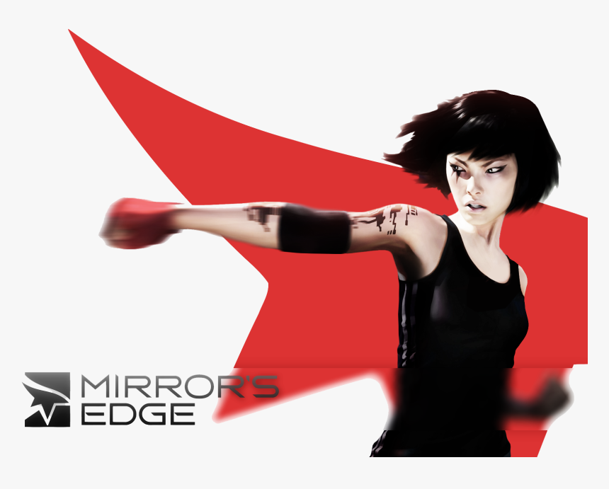 Mirrors Edge Transparent - Mirror's Edge Transparent, HD Png Download, Free Download
