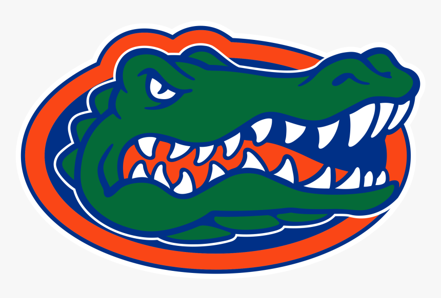 Florida Gators Logo Png Transparent - University Of Florida Gator, Png Download, Free Download
