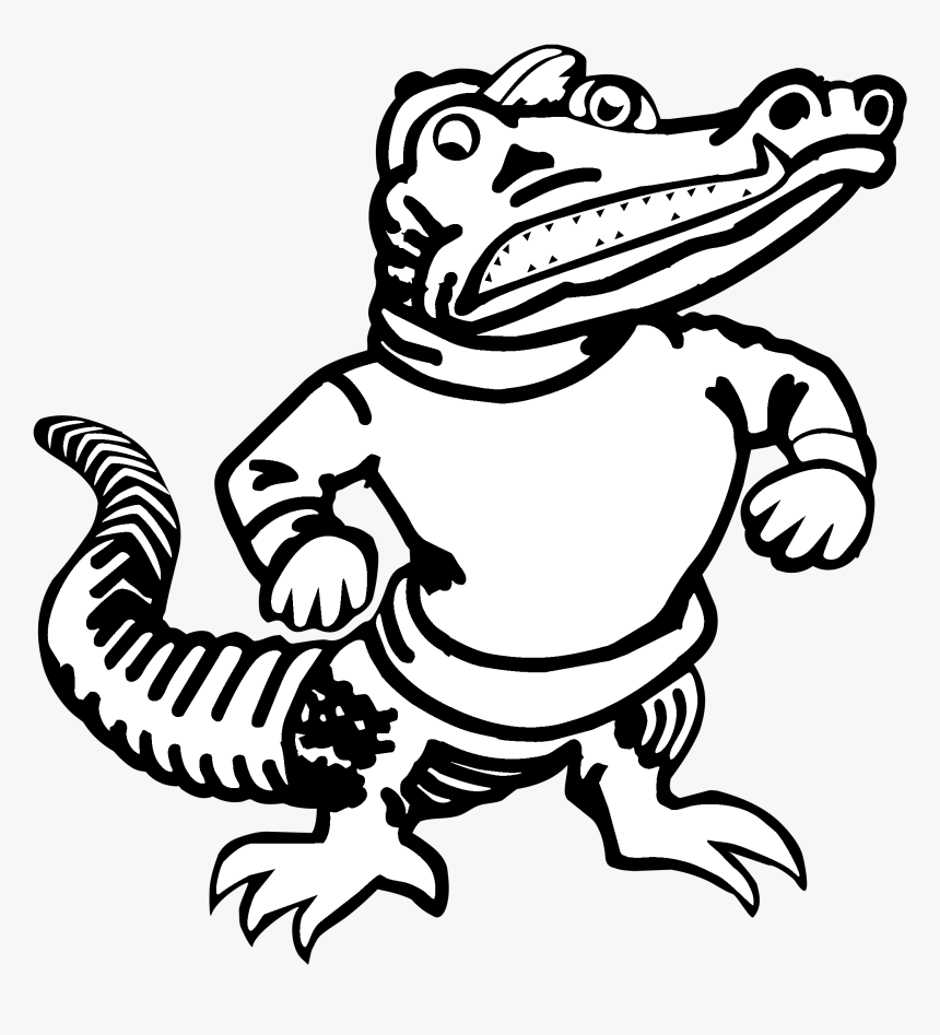 University Of Florida Florida Gators Football Clip - Florida Gator Logo Transparent, HD Png Download, Free Download