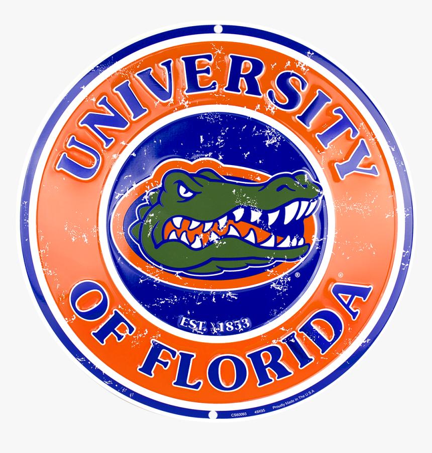Florida Gators Circle Sign - Florida Gators, HD Png Download, Free Download