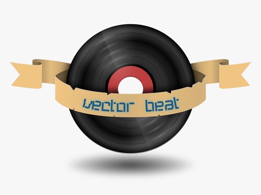 Vector Beat Records Clip Arts - Record Clipart, HD Png Download, Free Download
