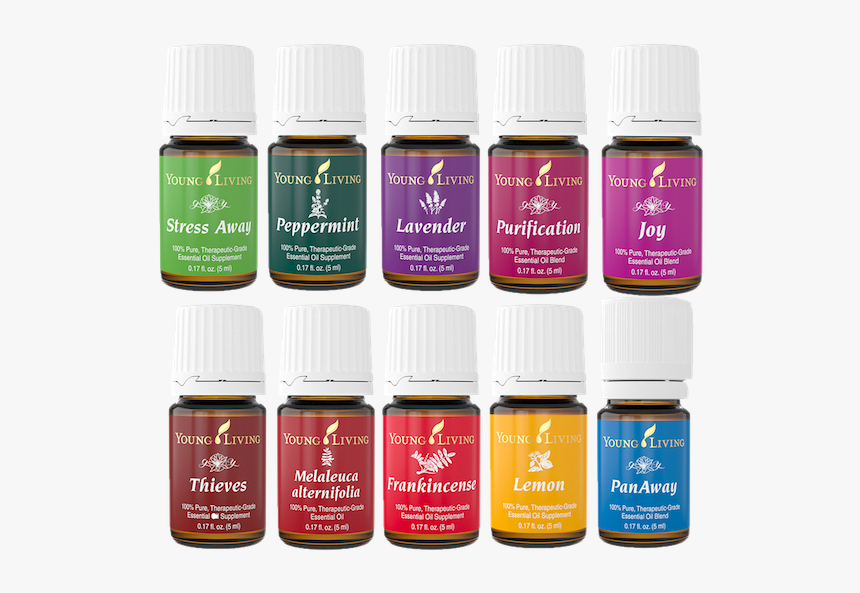 Young Living Essential Oil Png, Transparent Png, Free Download