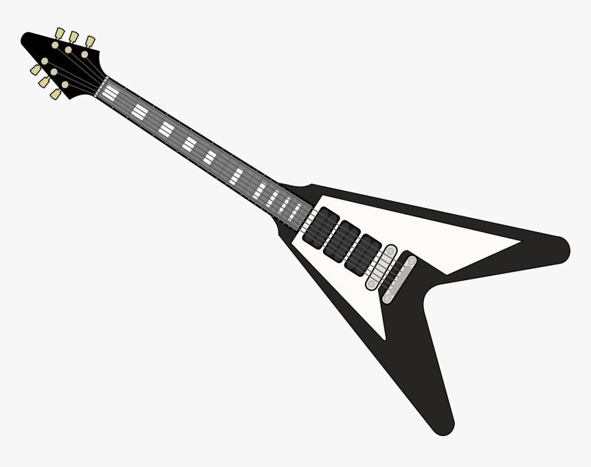 Transparent Guitar Png - Electric Guitar Vector Png, Png Download, Free Download