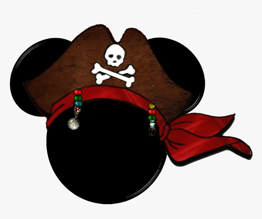 Transparent Mickey Mouse Ears Png - Jack Sparrow Mickey Head, Png Download, Free Download