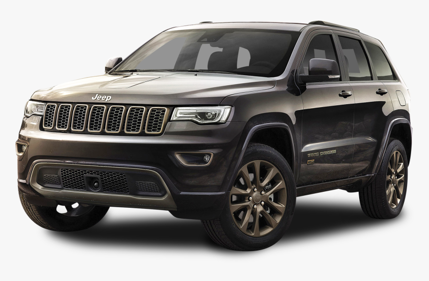 Black Jeep Grand Cherokee Car Png Image - 2020 Jeep Grand Cherokee Limited, Transparent Png, Free Download