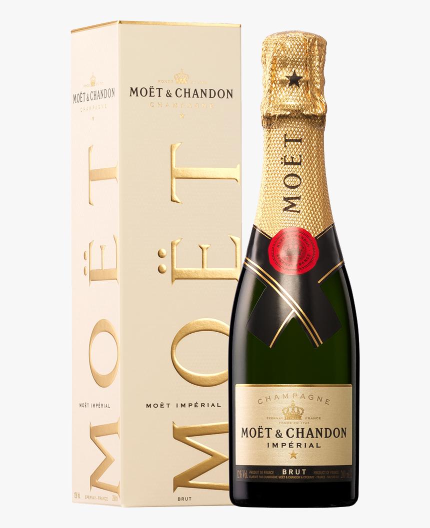 Transparent Moet Bottle Png - Moet & Chandon Brut Imperial Piccolo, Png Download, Free Download