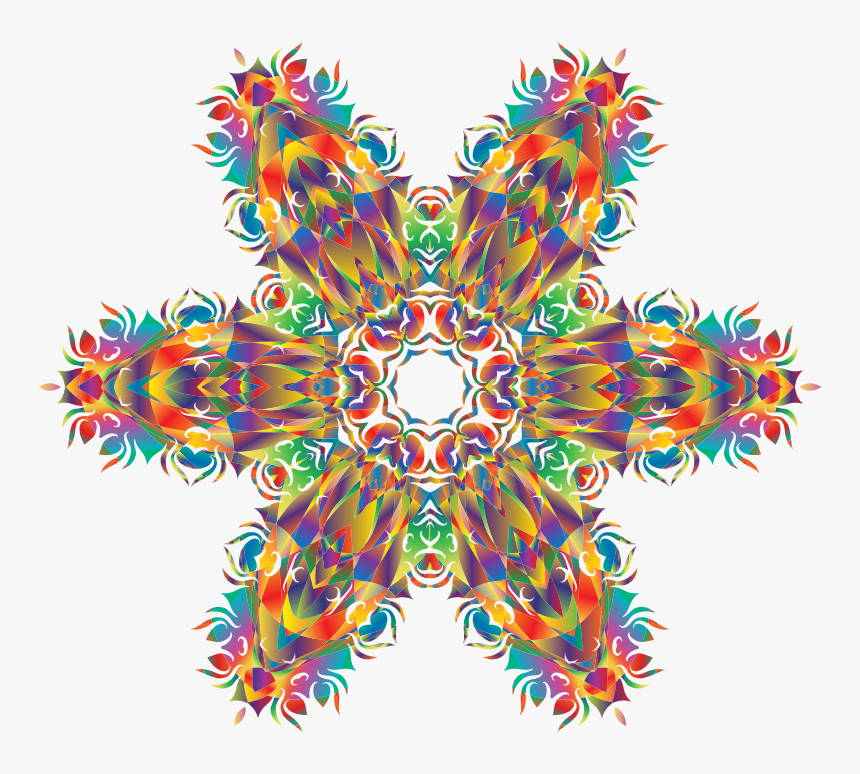 Transparent Rainbow Flare Png - Motif, Png Download, Free Download