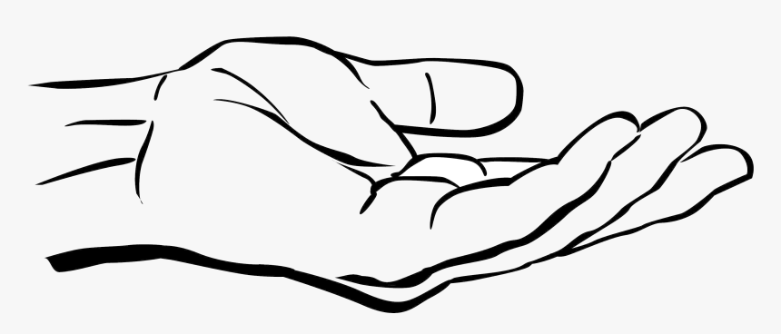 Praying Hands Black And White Clipart Clip Art Guru Holding Out Hand Drawing Hd Png Download Kindpng Find free cliparts and pngs on freepngclipart.com. praying hands black and white clipart