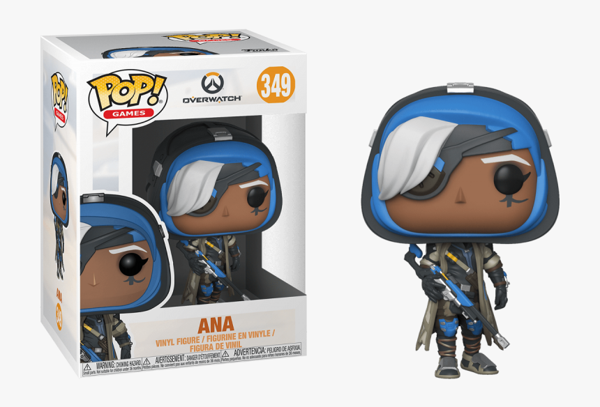 Funko Pop Ana Overwatch, HD Png Download, Free Download