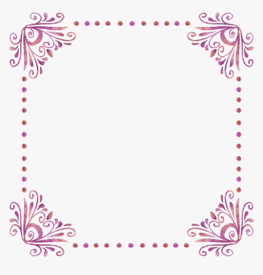Picture Frame Image File Formats - Page Border Design, HD Png Download, Free Download
