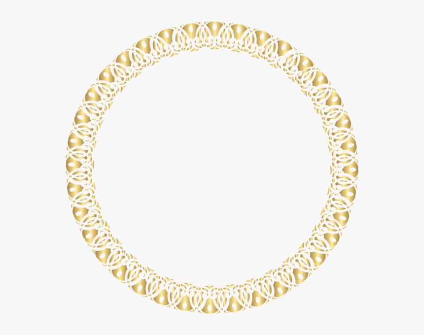 Transparent Circular Border Png - Circle Frames In Png, Png Download, Free Download