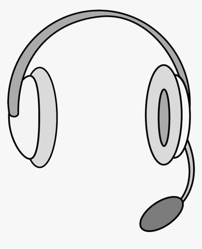 Headphones Headset Microphone Clipart Transparent Png - Headset Clipart, Png Download, Free Download