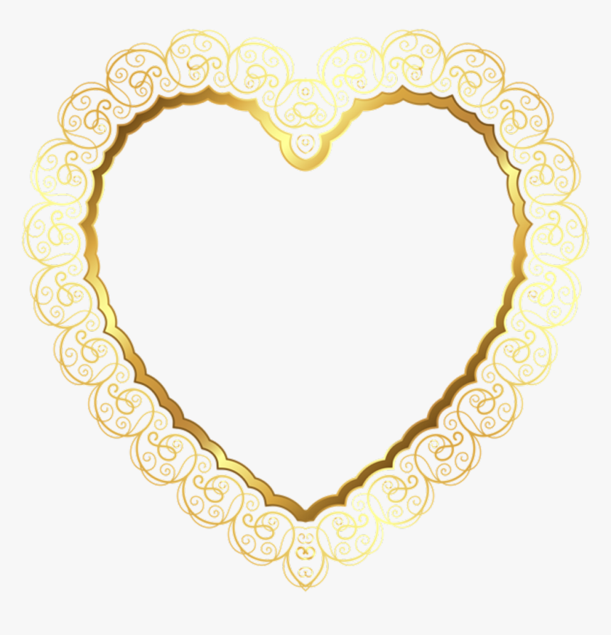 Gold Lace Border Png - Transparent Background Border Frame Png, Png Download, Free Download