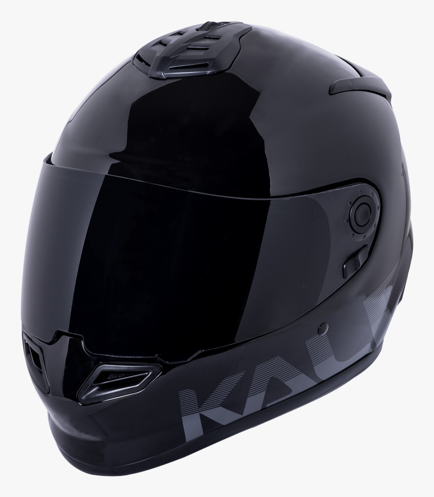 Catalyst Helmet Gloss Black, Helmets, Kali Protectives, - Motorcycle Helmet, HD Png Download, Free Download