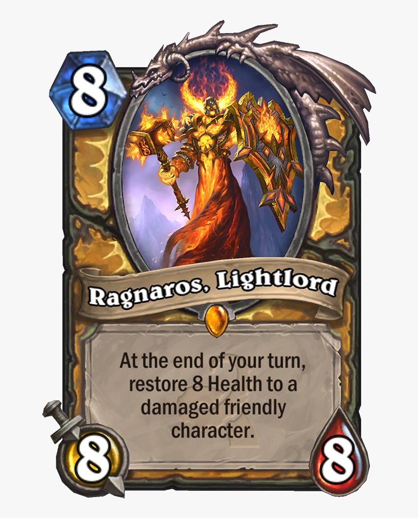 Hearthstone Ragnaros Lightlord, HD Png Download, Free Download