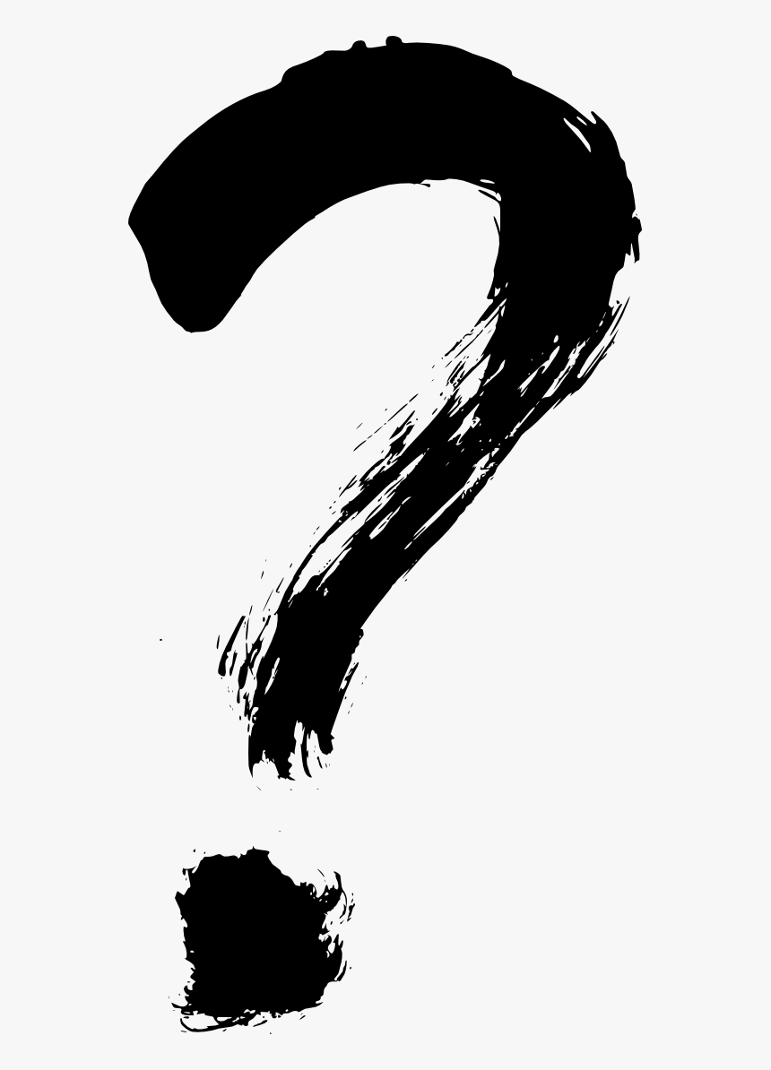 Question Mark Brush Png, Transparent Png, Free Download