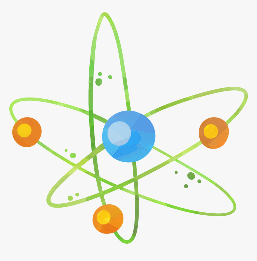 Physique Chimie Dessin Atome, HD Png Download, Free Download