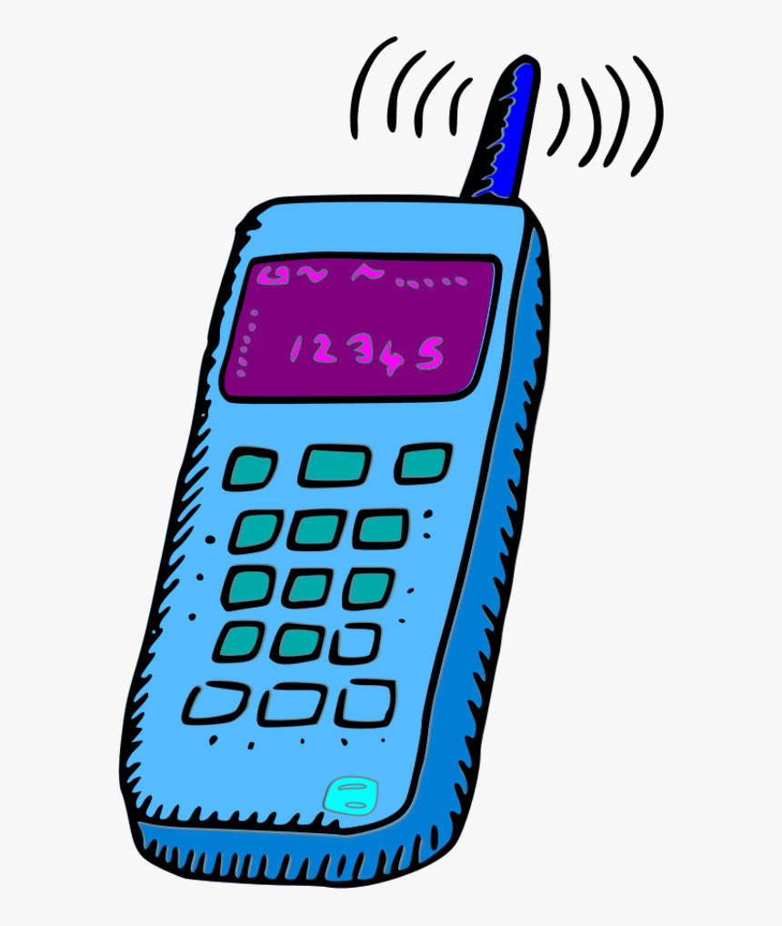 Cell Phone Image Clip Art Phone Clip Art Color Hd Png Download Kindpng