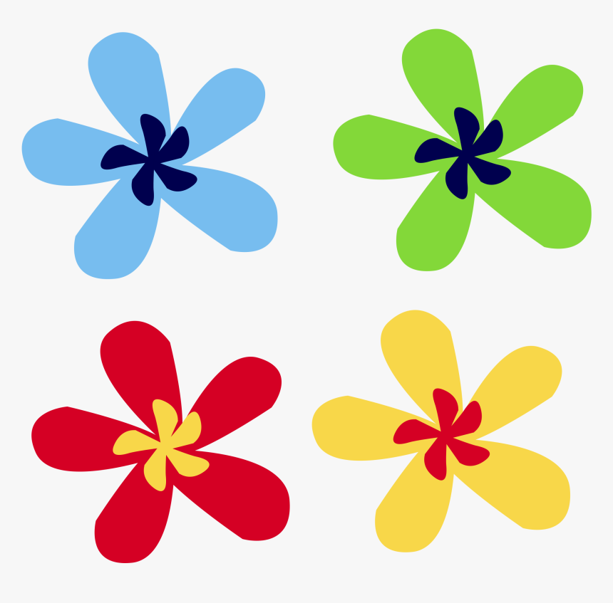 Flowers Vector Graphics - Clip Art Design Flowers, HD Png Download, Free Download