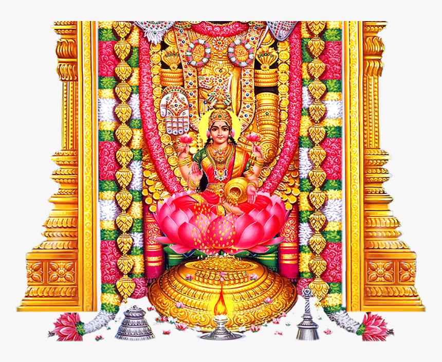 Lord Venkateswara With Lakshmi, HD Png Download, Free Download
