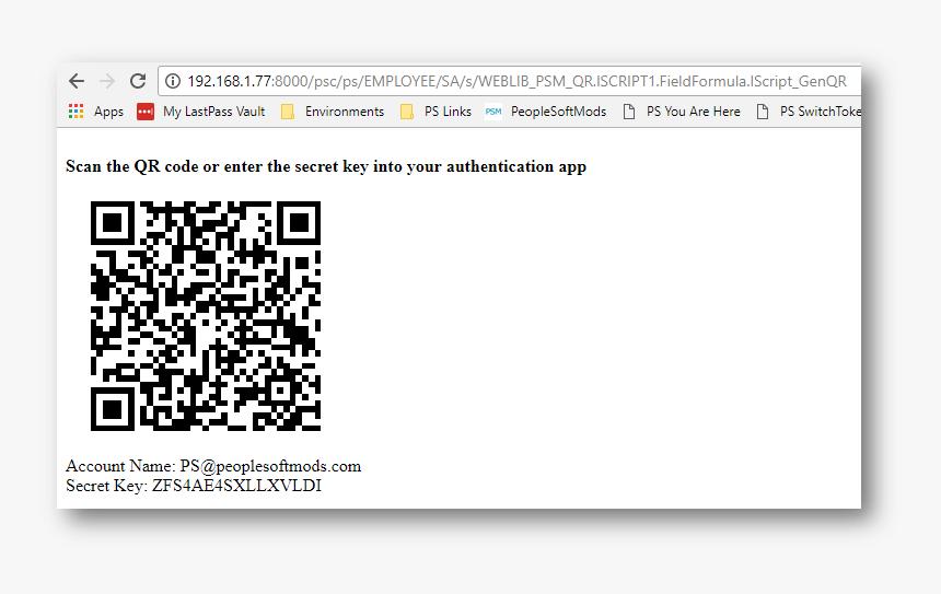 Qr Code - Qr Code For Enter Key, HD Png Download, Free Download