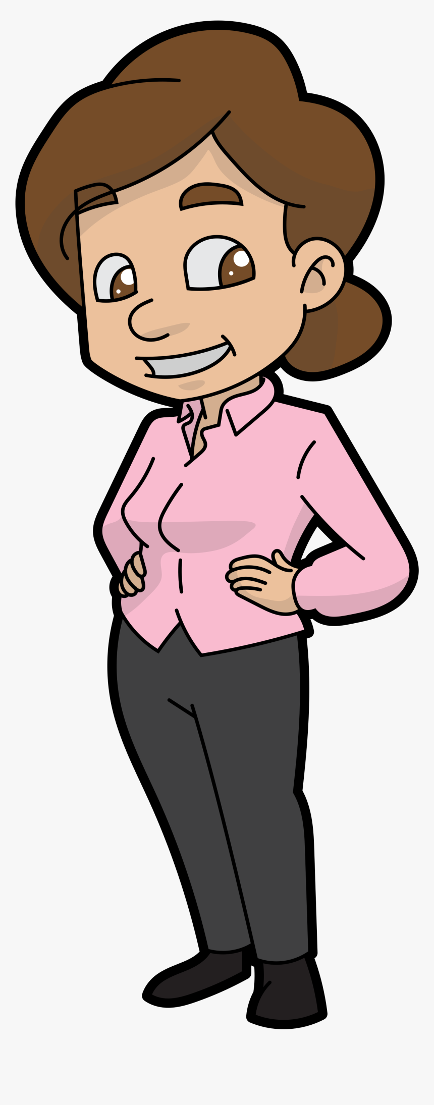 Cartoon Mother Clipart, HD Png Download, Free Download
