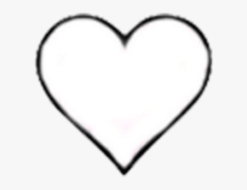 Hd Heart Hearts Tumblr Blackandwhite Icon Png Black - Like Instagram White Heart, Transparent Png, Free Download