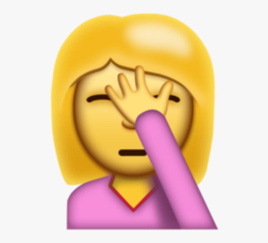 "Emoji Transparent New Emoji""coming Next Month Energy - Hand In Face Emoji, HD Png Download, Free Download"