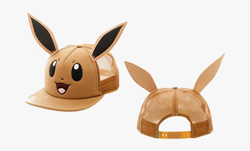 Pokemon Eevee Big Face Trucker Hat - Eevee Hat, HD Png Download, Free Download