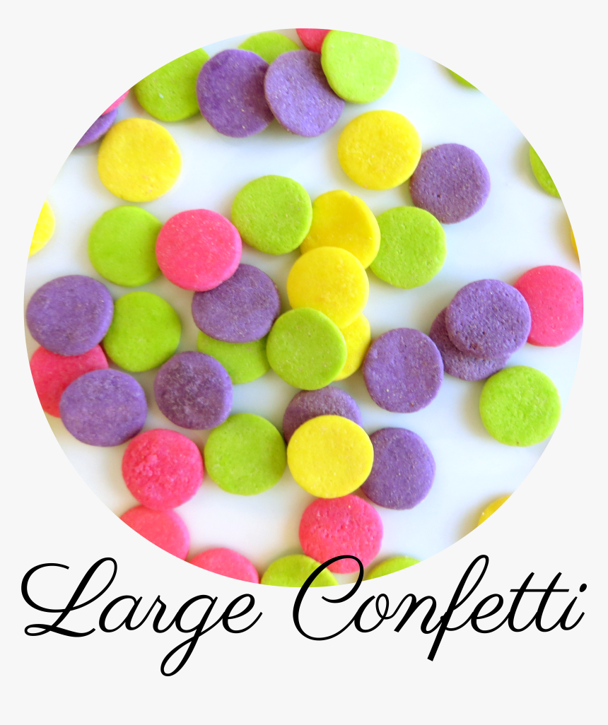 Large Confetti Sprinkles-01, HD Png Download, Free Download