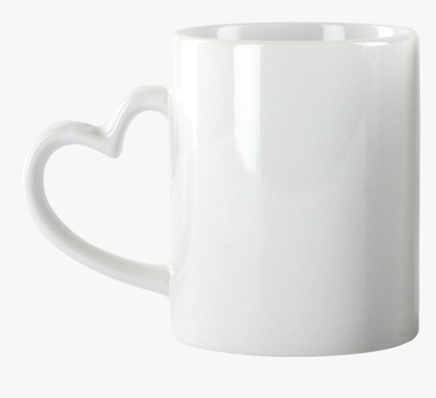 Mug Heart Shape Png, Transparent Png, Free Download