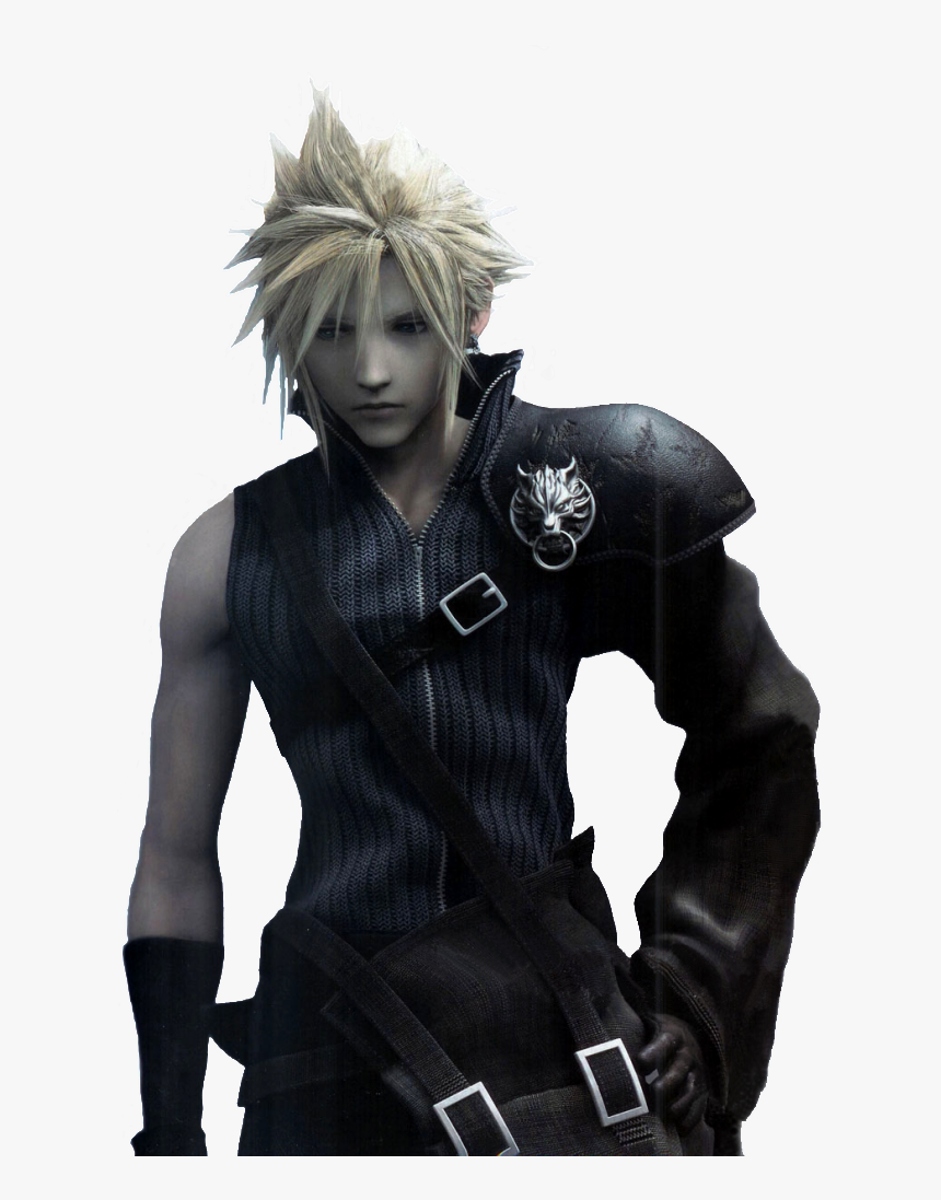 Cloud Final Fantasy Movie, HD Png Download, Free Download