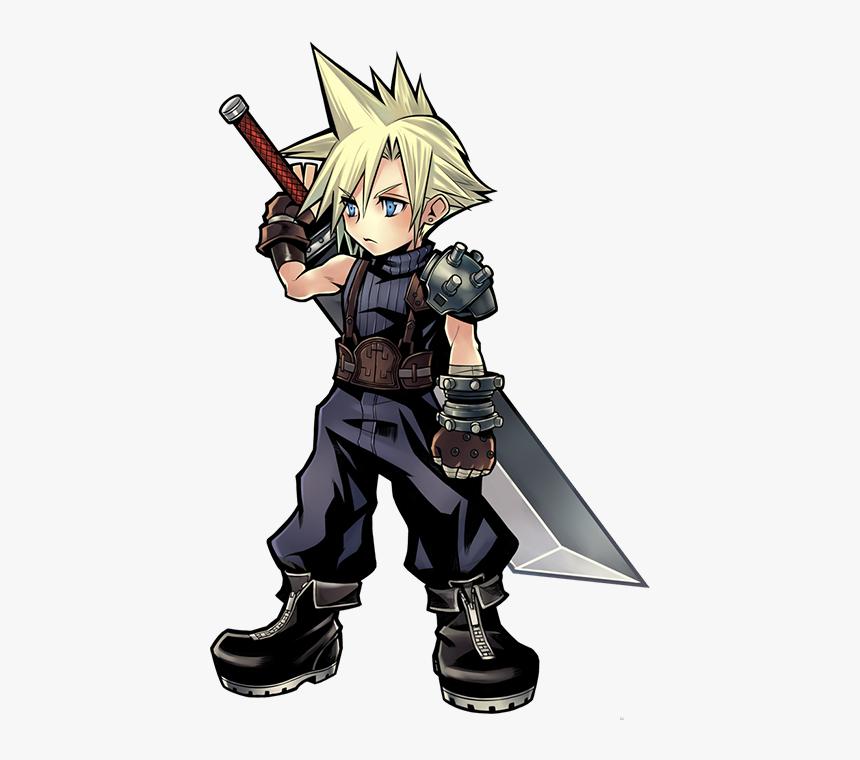Cloud Strife Png Download Image - Cloud Final Fantasy Png, Transparent Png, Free Download