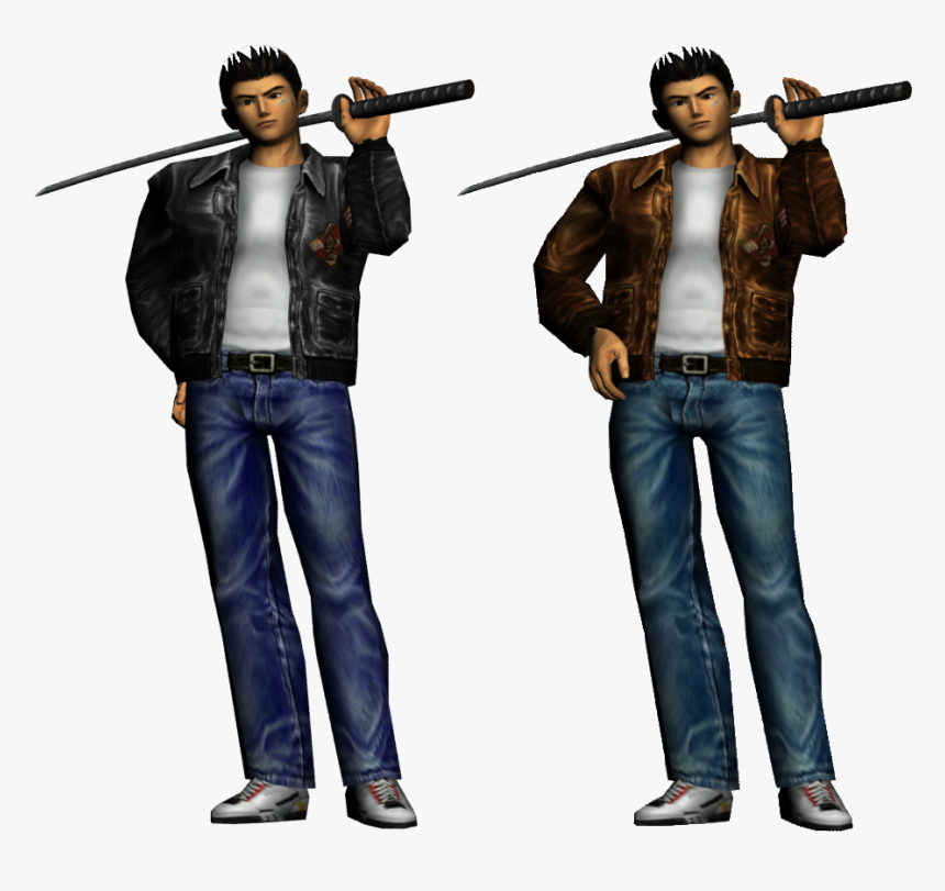 The Idea Is To Swap Him With Cloud Strife, See Ryo - Shenmue Ryo Hazuki, HD Png Download, Free Download