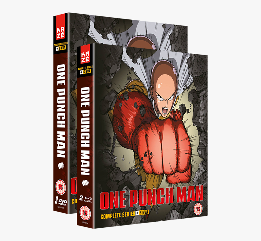 One Punch Man Collection - One Punch Man Season 2 Dvd, HD Png Download, Free Download