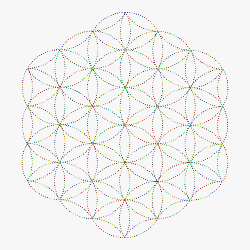 Flower Of Life Dots, HD Png Download, Free Download