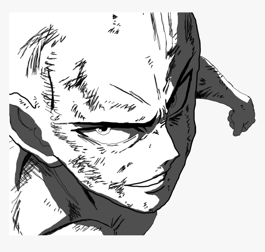 One Punch Man White Background , Png Download - One Punch Man White Background, Transparent Png, Free Download