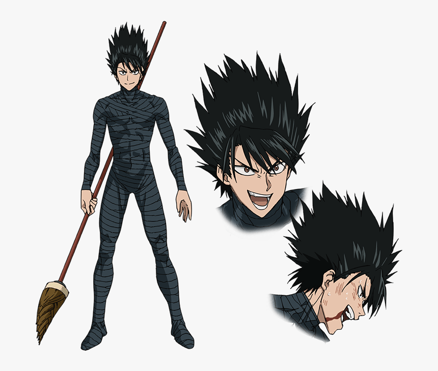 One Punch Man Characters Hd Png Download Kindpng