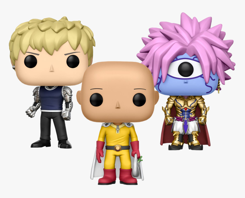 One Punch Man Pop Figures, HD Png Download, Free Download