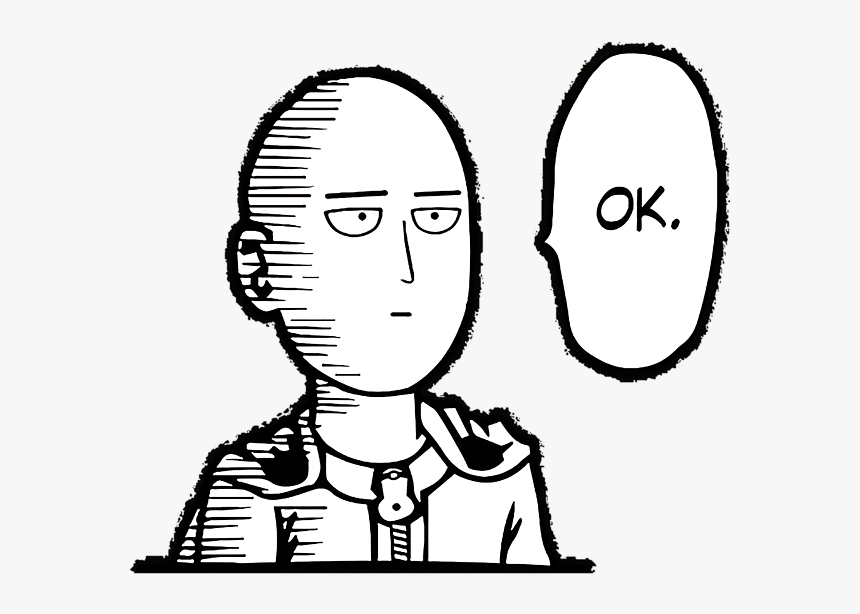 One Punch Man Easy Drawing, HD Png Download, Free Download