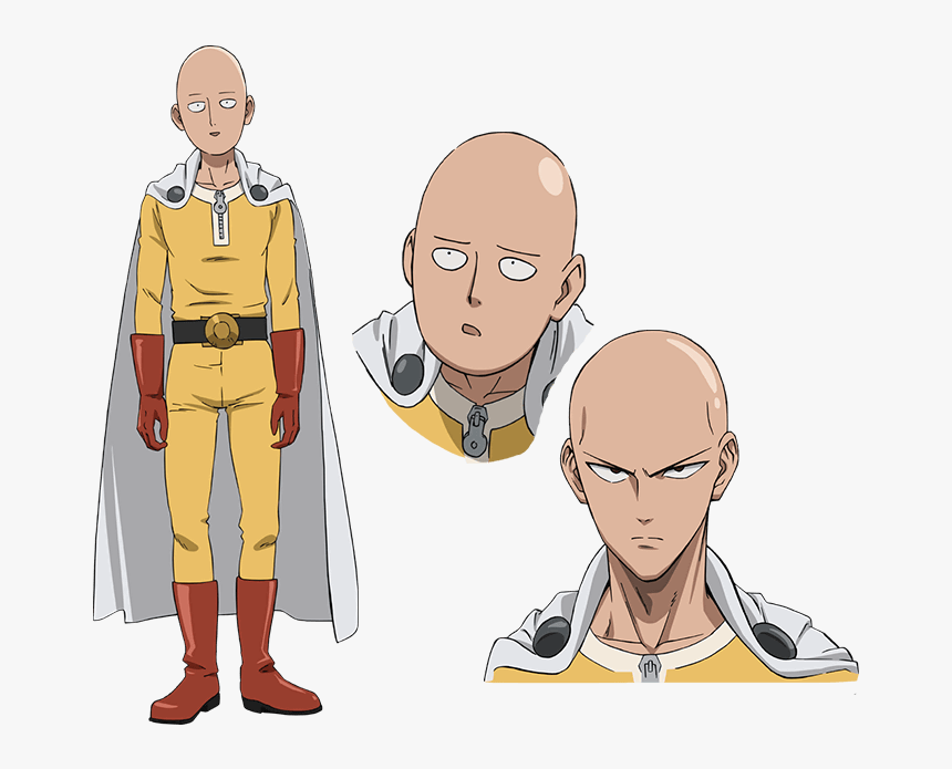 Saitama One Punch Man Characters, HD Png Download, Free Download