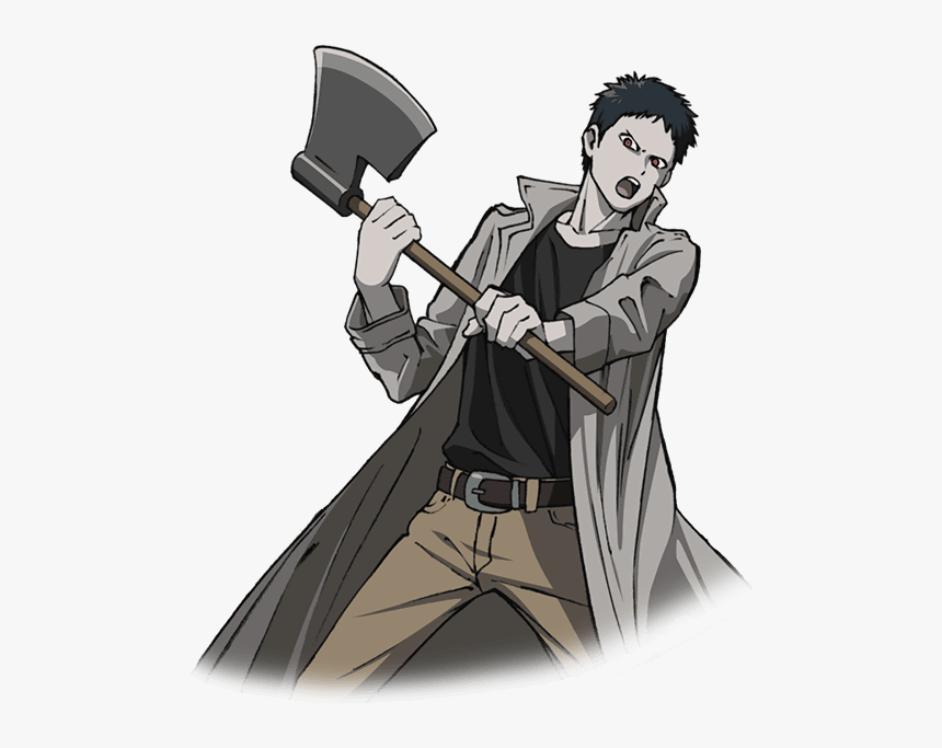 Anime Man With Axe, HD Png Download, Free Download