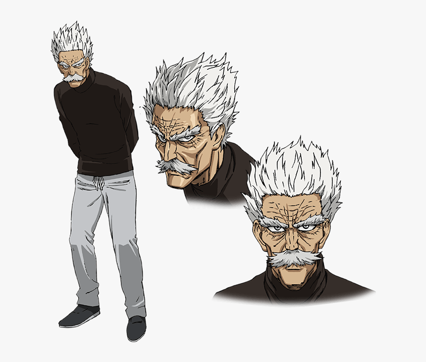 One Punch Man Silver Fang, HD Png Download, Free Download