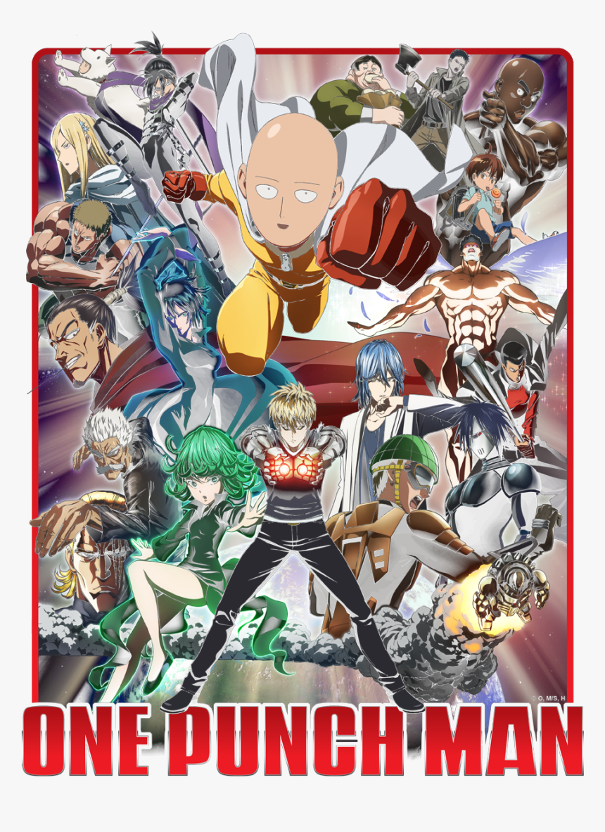 One Punch Man All Characters, HD Png Download, Free Download