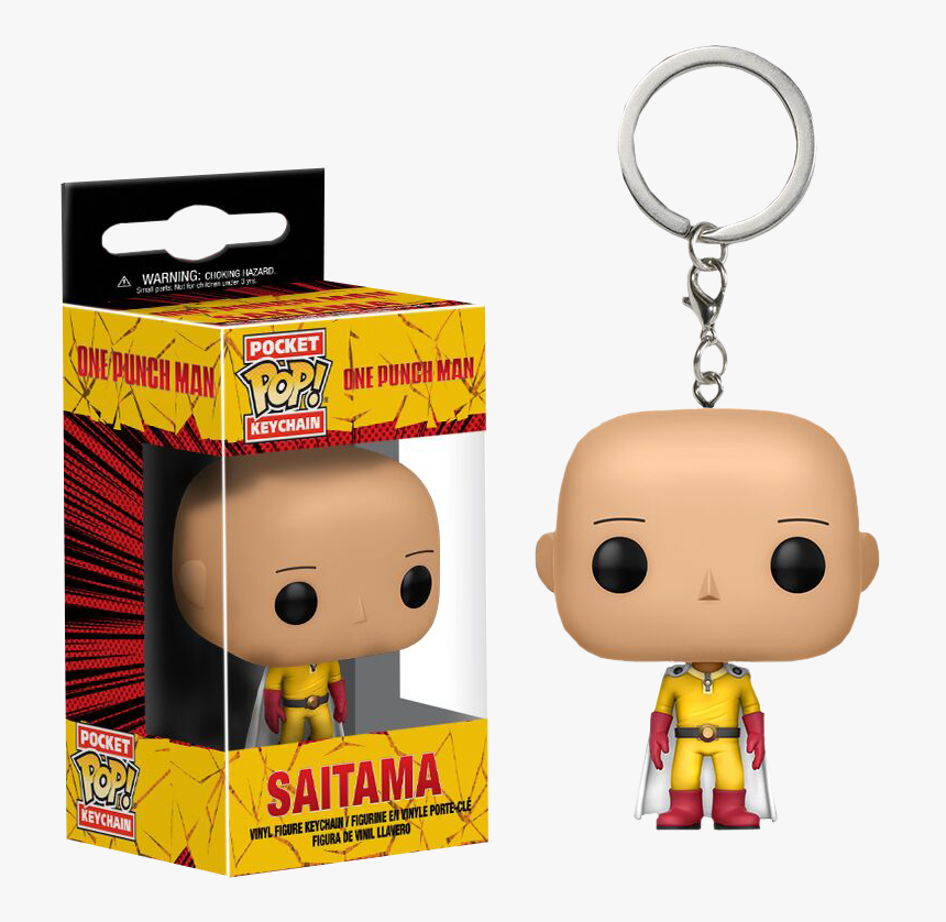 Just Toys Intl One Punch Man Other Japanese Anime Figure - One Punch Man Funko Pop Keychain, HD Png Download, Free Download
