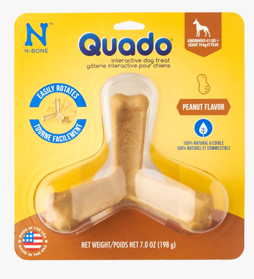"N-bone® Quado® In Peanut""  Class= - Quado Pumpkin Spice Dog Treat, HD Png Download, Free Download"