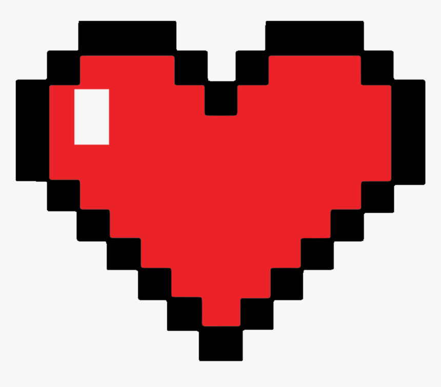 Immortalize My Banned Twitch Emoticon On A Throw Pillow - Piskel Heart, HD Png Download, Free Download